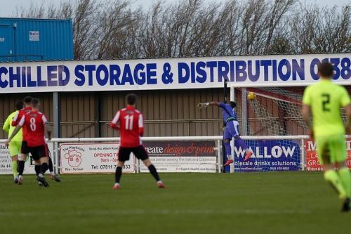 Photo 29 Stoke's opening goal